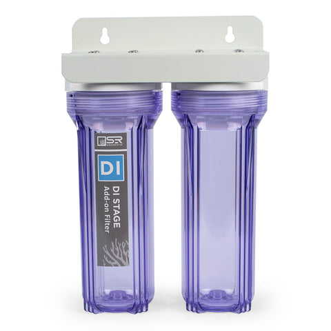 Clear Canister with head and mounting bracket