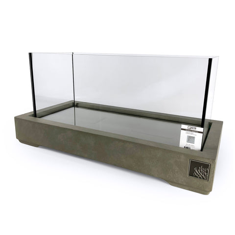 "SR Aquaristik Architectural Cement Aquarium Stand 60cm x 25cm (23.62"" x 9.84"")"
