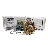 SR Aquaristik Deco Tank 25 Aquarium Kit Petrified Wood Aquascape (Options Available)