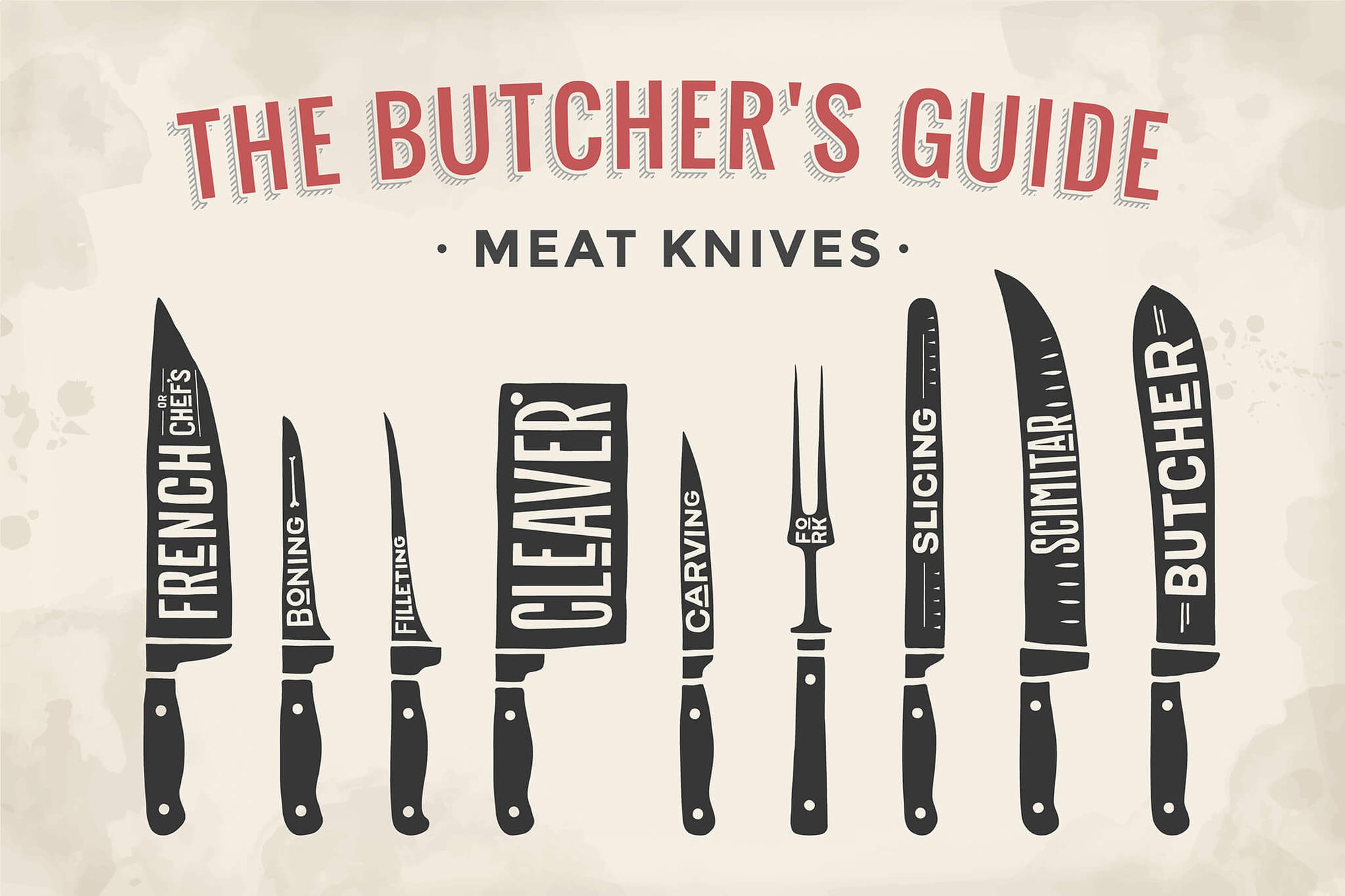 Butcher Knife Set 101 – Everything You Need to Know