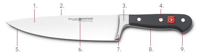 Wusthof Classic Series Santoku & Paring Knife Set