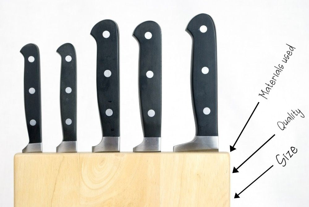 knife rack features
