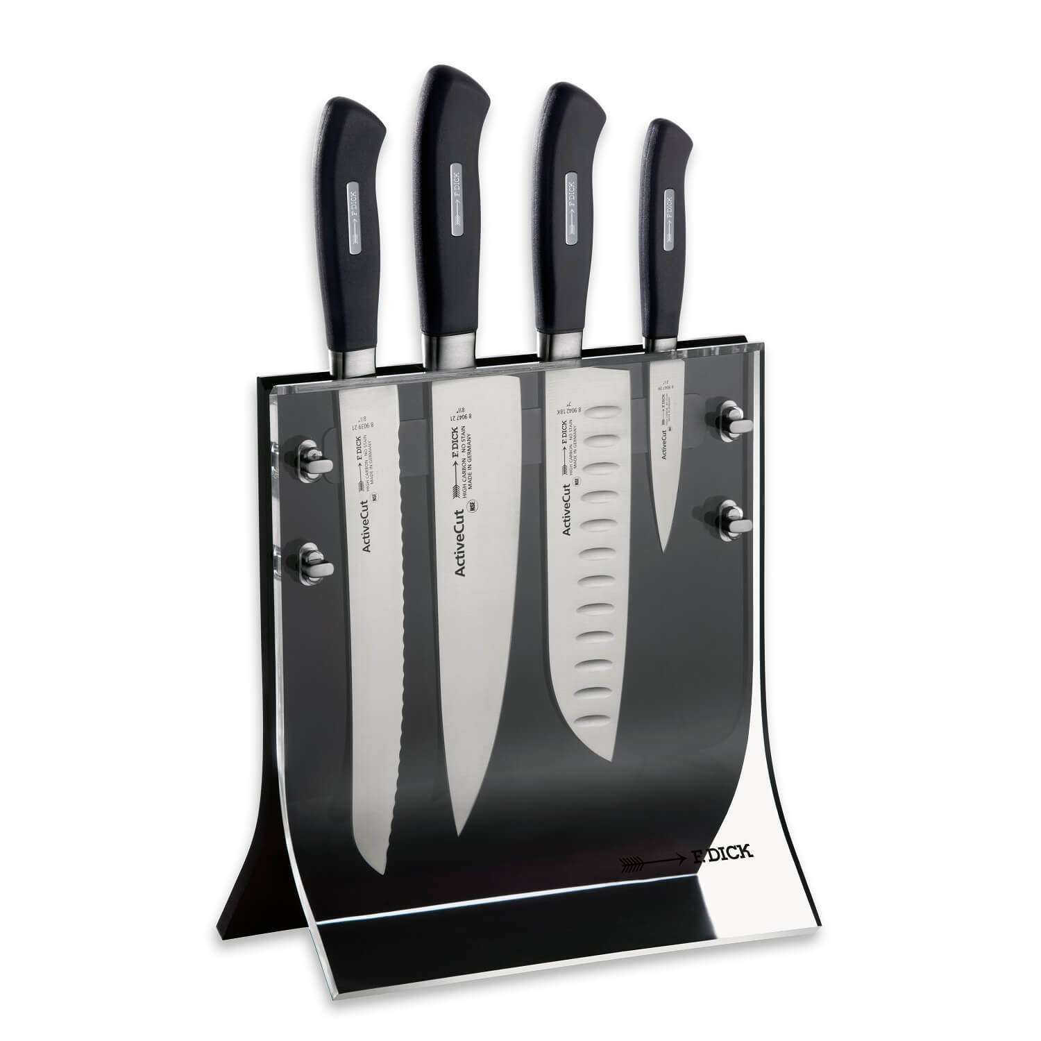 F DICK ActiveCut Knife block 4Knives - House of Knives