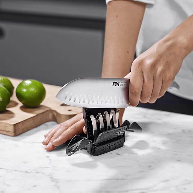 Furi Diamond Fingers™ Stainless Steel Compact Knife Sharpener - House of Knives