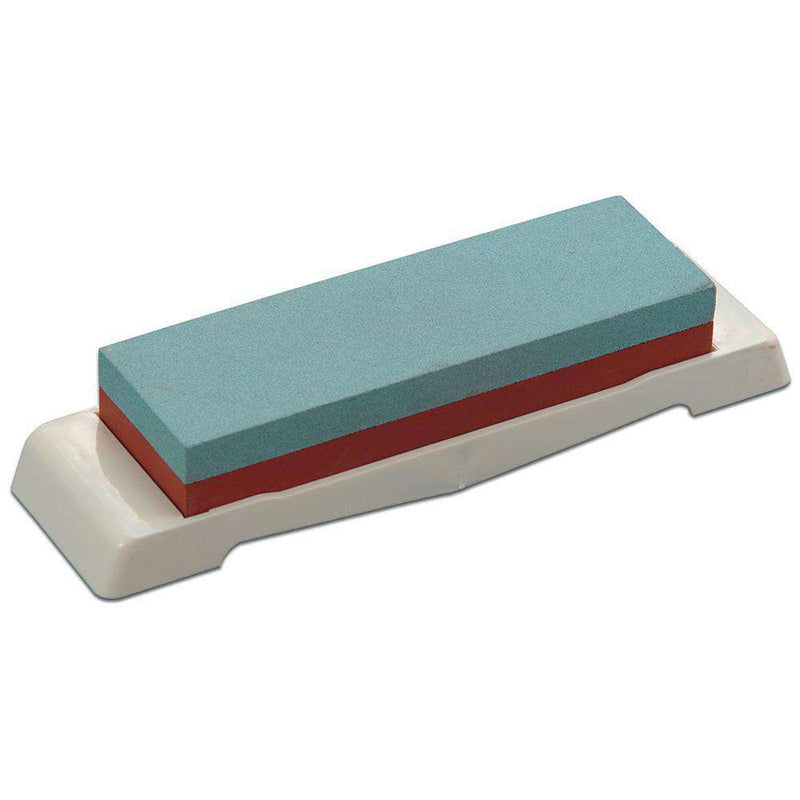 Tojiro Whetstone Domestic Double Sided w / Non-Slip Stand # 220 / 1000, 175x56x28mm - House of Knives