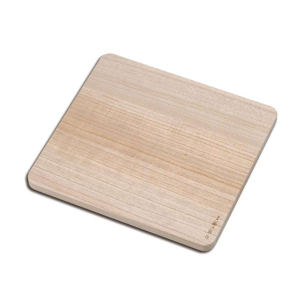 Tojiro Pro Kiri Wood Japanese Cutting Board Square - House of Knives