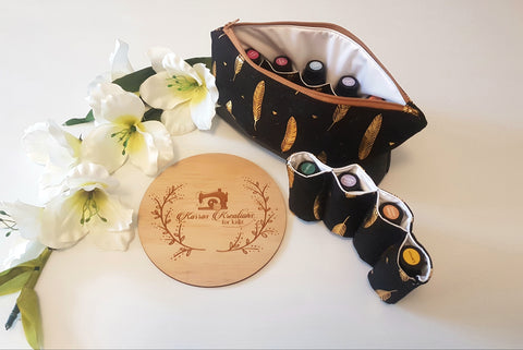 Essential Oil Clutch/Bag