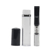 CLEANABLE CIGARETTE HOLDER & FILTER IN CYLINDER CASE -SILVER