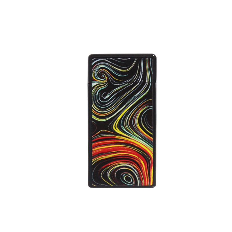 Torch 268 (Wavy Colors Black)