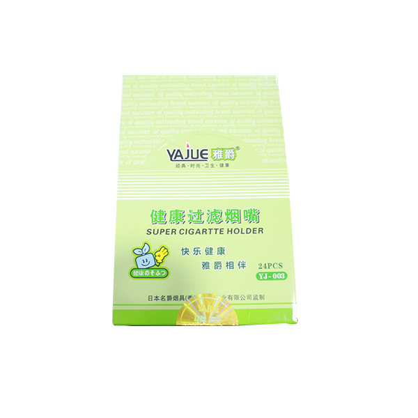 YAJUE (YJ-003) DISPOSABLE CIGARETTE FILTER - SETS OF 24BOXES