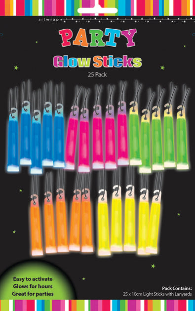 Party Glow Stick Pack