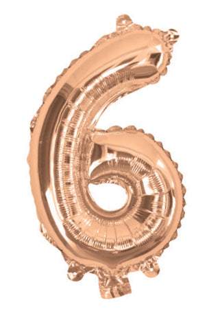 Giant Rose Gold 86cm Helium Balloon Letters & Numbers