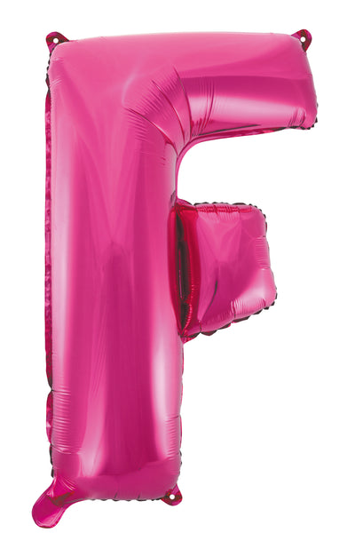 Pink Letters & Numbers - Giant 86cm Helium Balloons