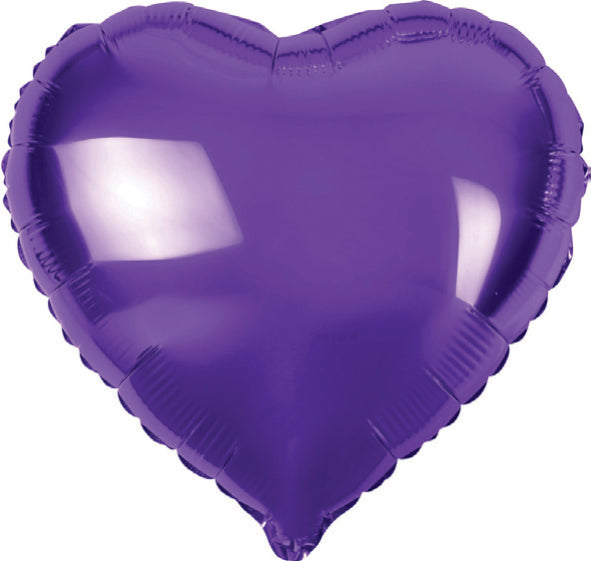 Large Heart Shaped Helium Balloons 45cm
