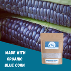 Original Blue Corn Pinole Blend: All-Natural Energy Booster & Endurance Fuel (20.3 oz) - Pinole Blue