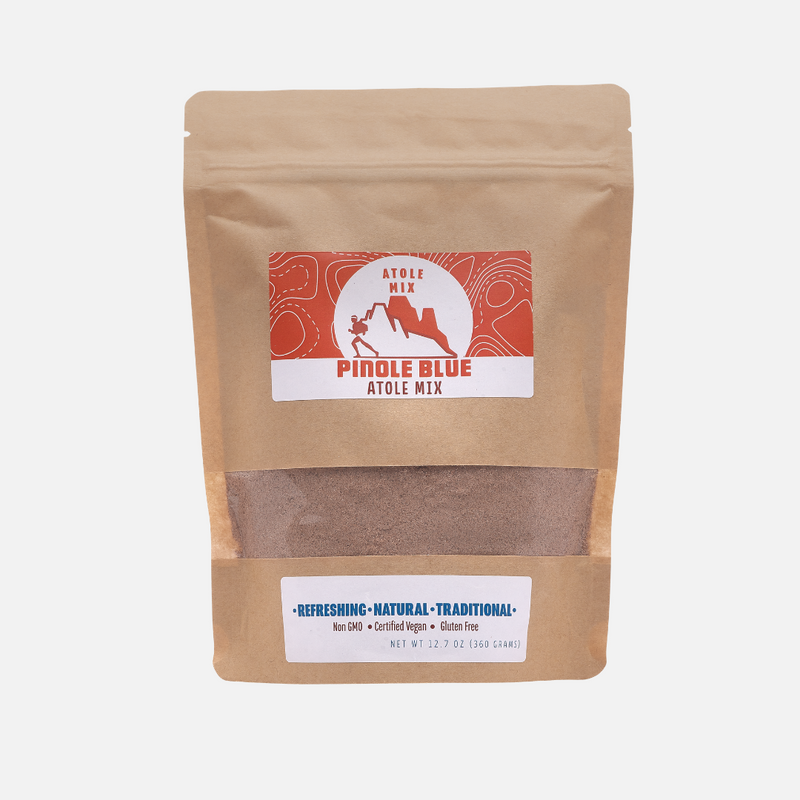 All Natural Instant Atole Blend (12.7 oz) - Pinole Blue