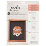 Home Wreath Kit | DIY Insert Kit | Size B | American Crafts