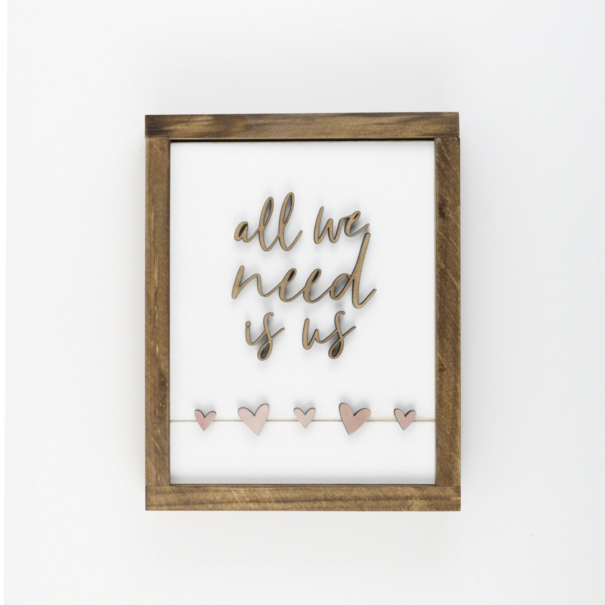 All We Need Is Us | DIY Insert Kit | Size B