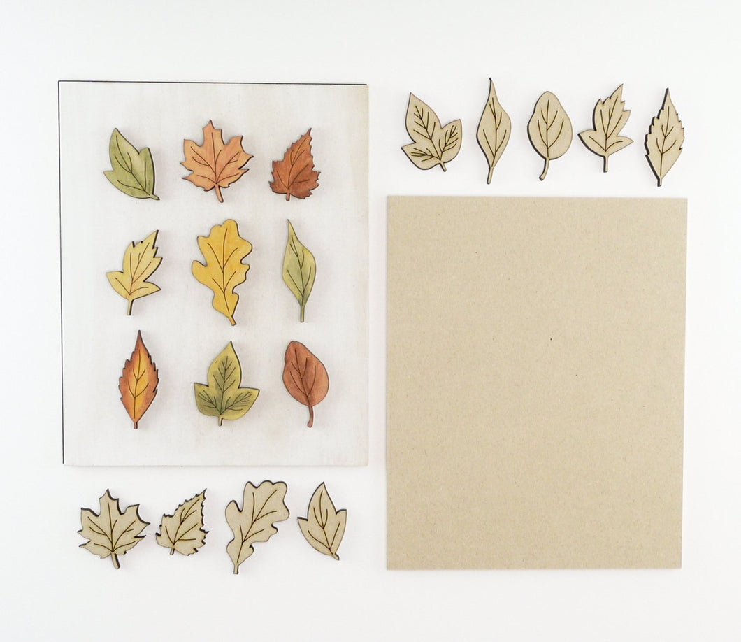 Autumn Leaves | DIY Insert Kit | 8x10 (Size B)