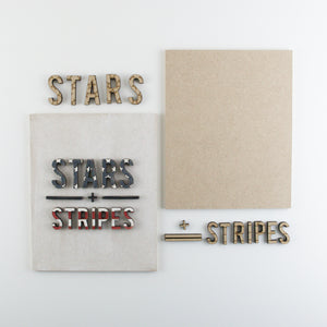 Stars + Stripes | DIY Insert Kit | Size B