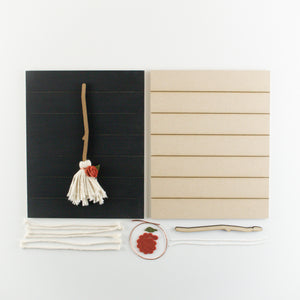 Witch's Broom | DIY Insert Kit | Size B