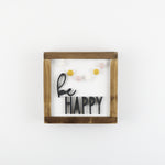 Be Happy | DIY Insert Kit | Size A