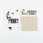 Be Merry | DIY Insert Kit | Size A