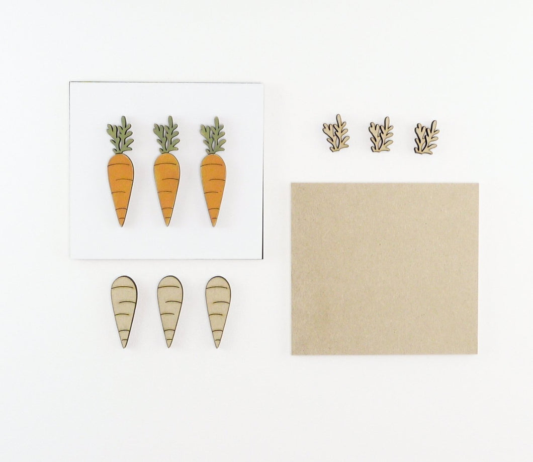 Carrots | DIY Insert Kit | 6x6 (Size A)