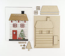 Load image into Gallery viewer, Christmas Cottage | DIY Insert Kit | 8x10 (Size B)