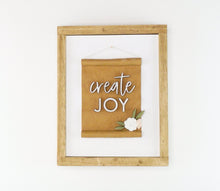 Load image into Gallery viewer, Create Joy | DIY Insert Kit | 8x10 (Size B)
