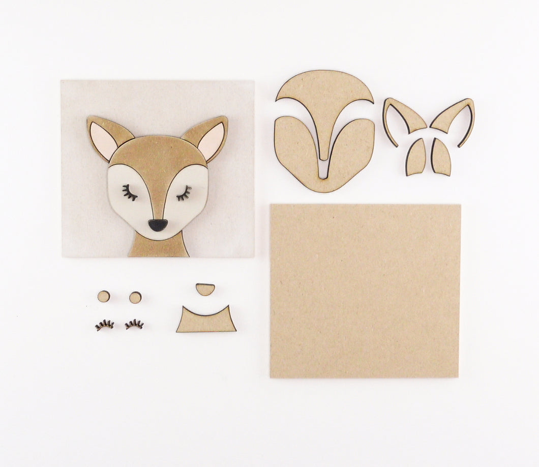 Deer | DIY Insert Kit | 6x6 (Size A)