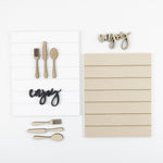 Enjoy + Utensils | DIY Insert Kit | Size B