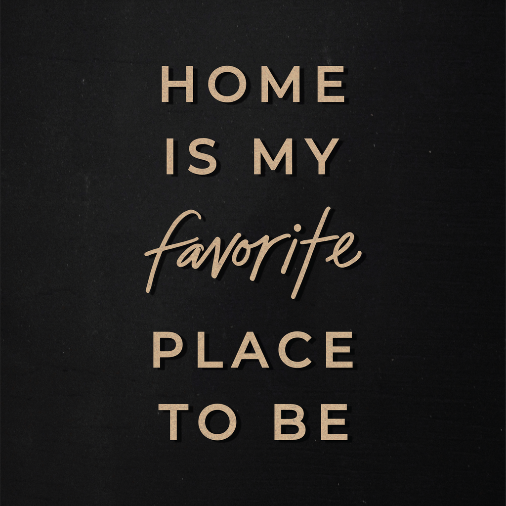 Favorite Place To Be | Word Kit