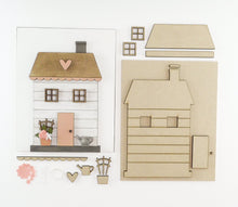 Load image into Gallery viewer, Flower Cottage | DIY Insert Kit | 8x10 (Size B)