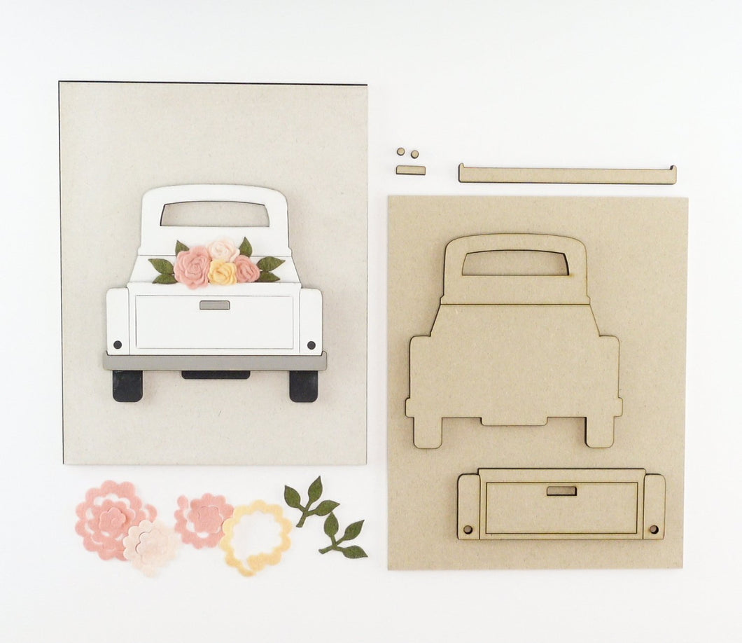 Flower Truck | DIY Insert Kit | 8x10 (Size B)