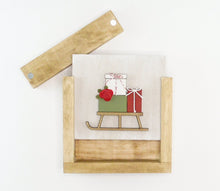 Load image into Gallery viewer, Gift Sleigh | DIY Insert Kit | 6x6 (Size A)
