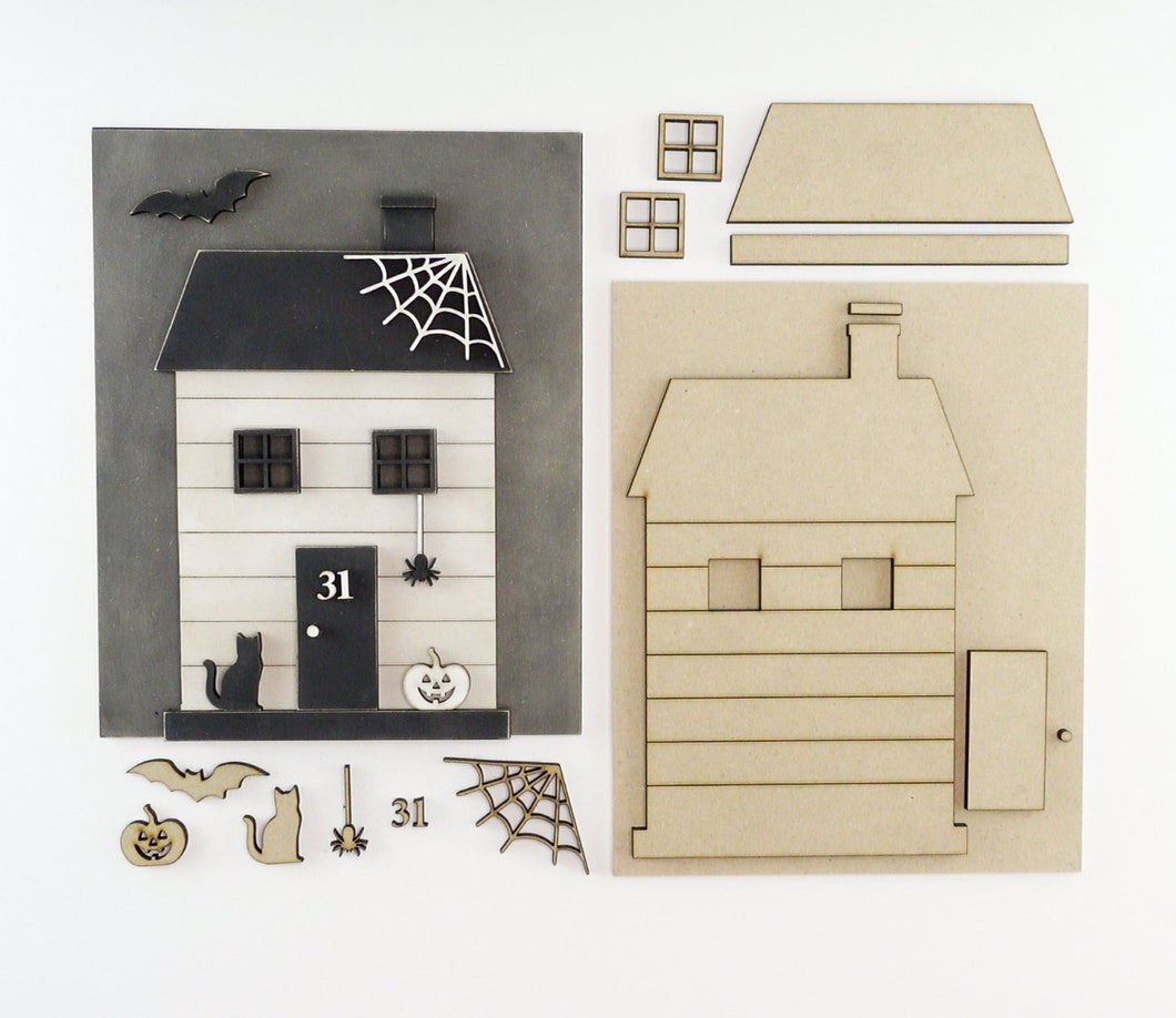 Haunted Cottage | DIY Insert Kit | 8x10 (Size B)