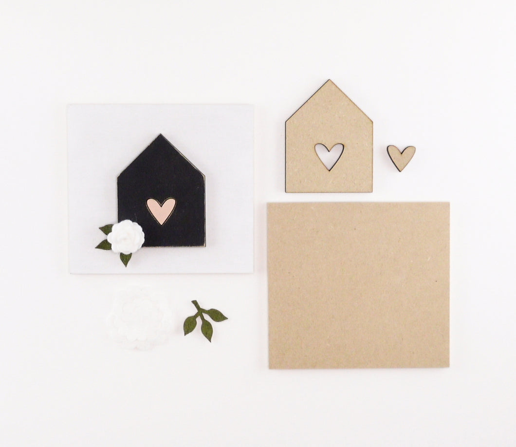 Heart + Home | DIY Insert Kit | 6x6 (Size A)
