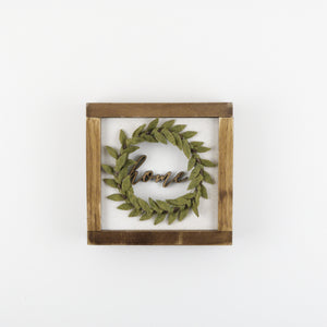 Home Wreath | DIY Insert Kit | Size A
