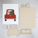 Winter Truck | DIY Insert Kit | Size B