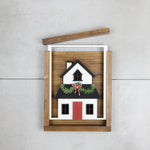 Reversible House - Halloween & Christmas | DIY Insert Kit | Size B