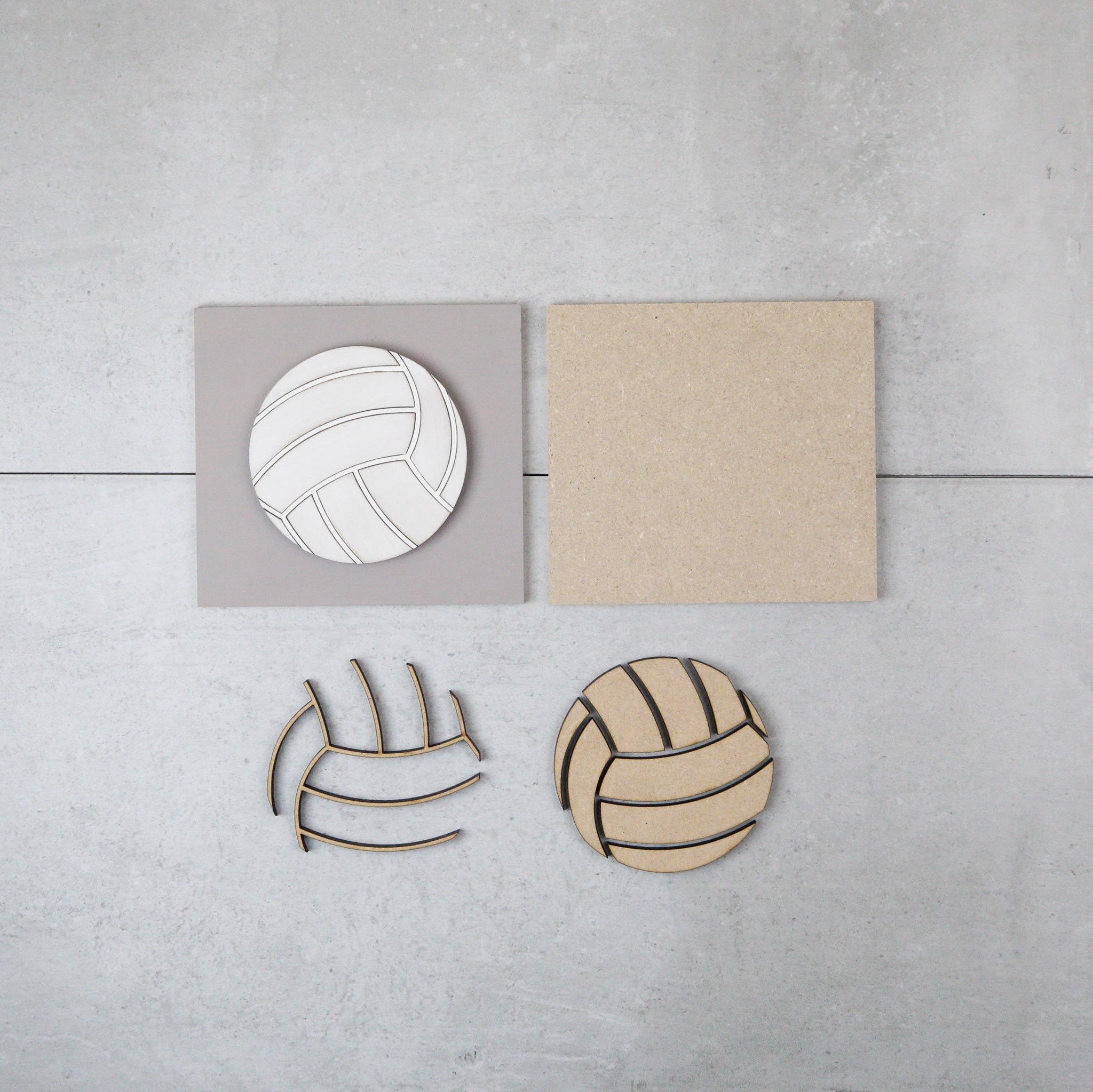 Volleyball | DIY Insert Kit | Size A