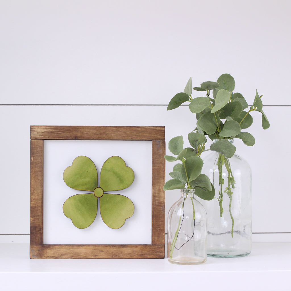 Four Leaf Clover | DIY Insert Kit | Size A