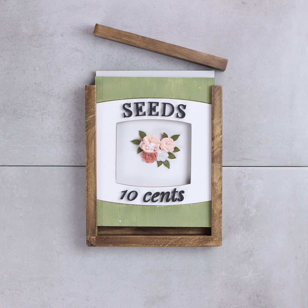 Seed Packet | DIY Insert Kit | Size B