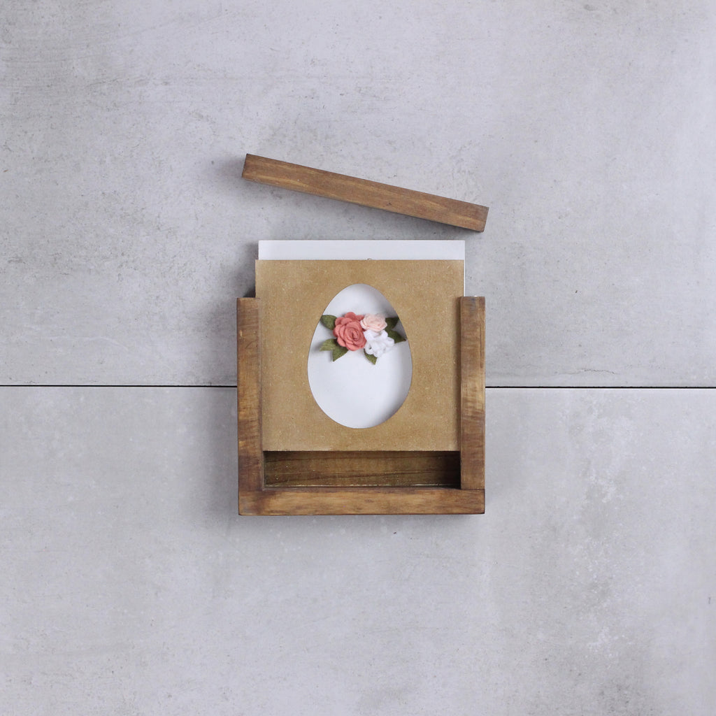 Floral Egg | DIY Insert Kit | Size A