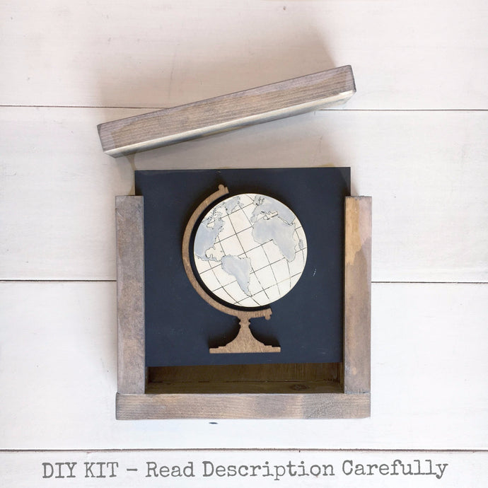 Globe | DIY Project Kit | Size A