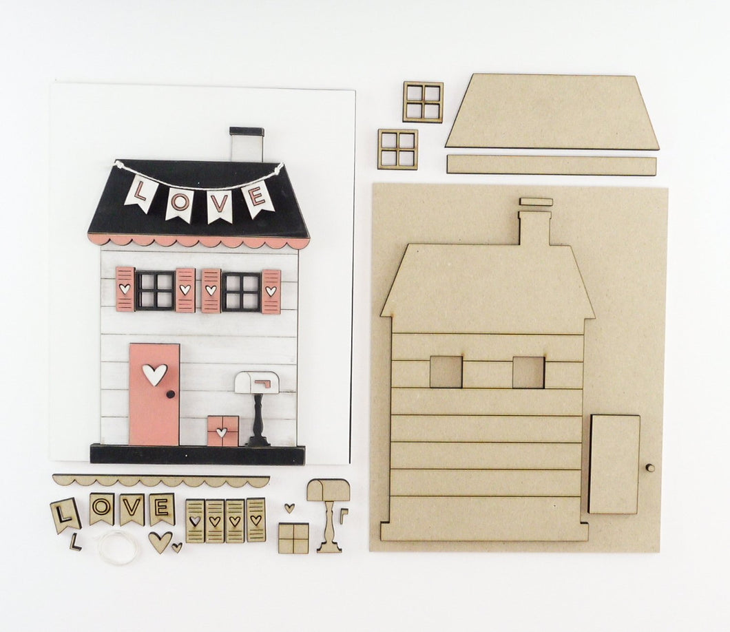 Love Cottage | DIY Insert Kit | 8x10 (Size B)