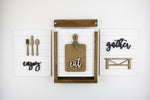 Gather, Eat, Enjoy Insert Kit Bundle | Size B