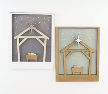 Load image into Gallery viewer, Nativity | DIY Insert Kit | 8x10 (Size B)