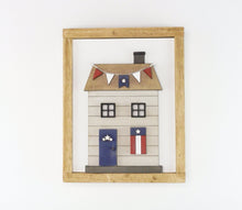 Load image into Gallery viewer, Patriotic Cottage | DIY Insert Kit | 8x10 (Size B)